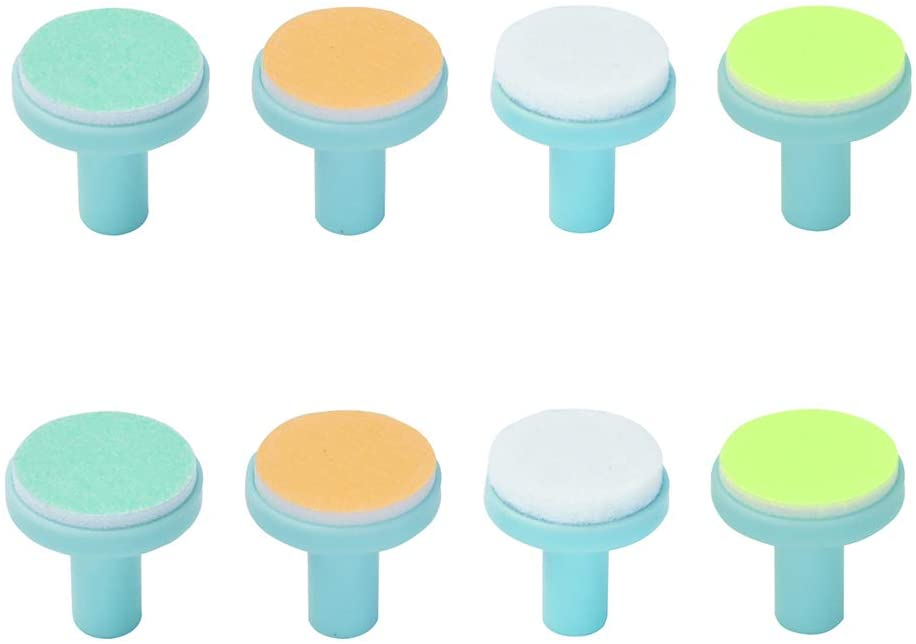 Cuby Baby Nail Trimmer Nail File Replacement Pads for Adult and Baby Use (Set of 8)