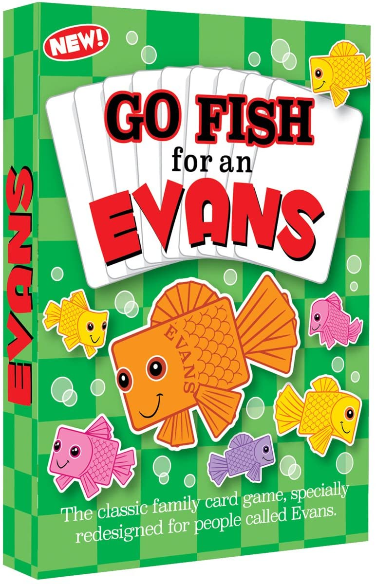THE EVANS FAMILY GAME - a personalized game specially for Evans families everywhere