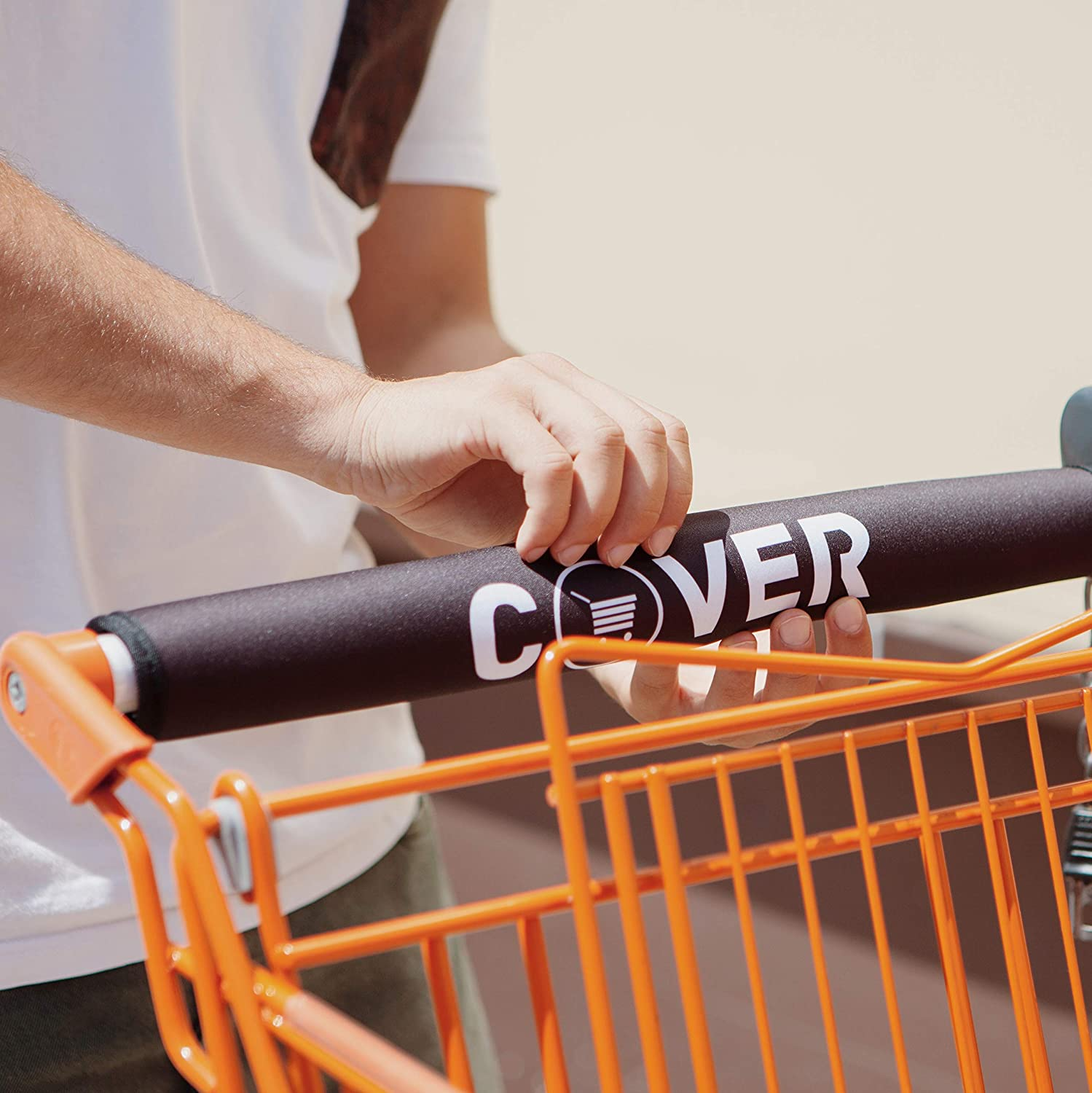 COVER | Shopping Cart Handle Cover | Baby Grocery Covers | Groceries Handles