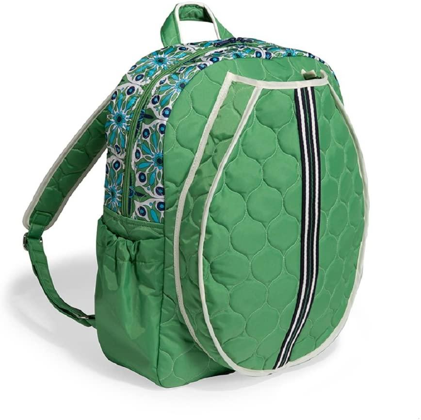 cinda b. Tennis Backpack, Verde Bonita, One Size