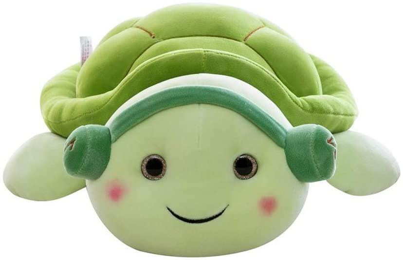 YANSHU Couple Tortoise Plush Stuffed Toy Cute Animal Doll, Large Lying Turtle Pillow Cushion for Children?s Birthday (40cm/15.7