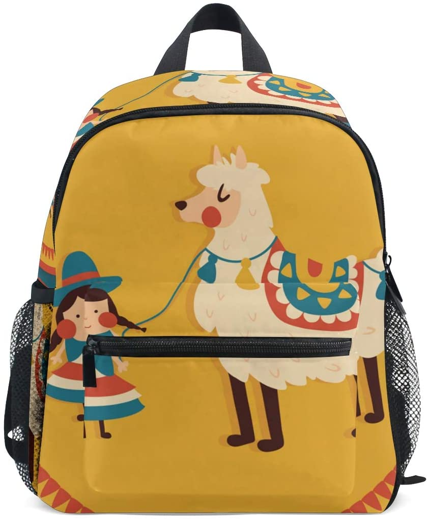 Kids Backpack Girl Sheep for Toddler Boy Girls Age 2-7
