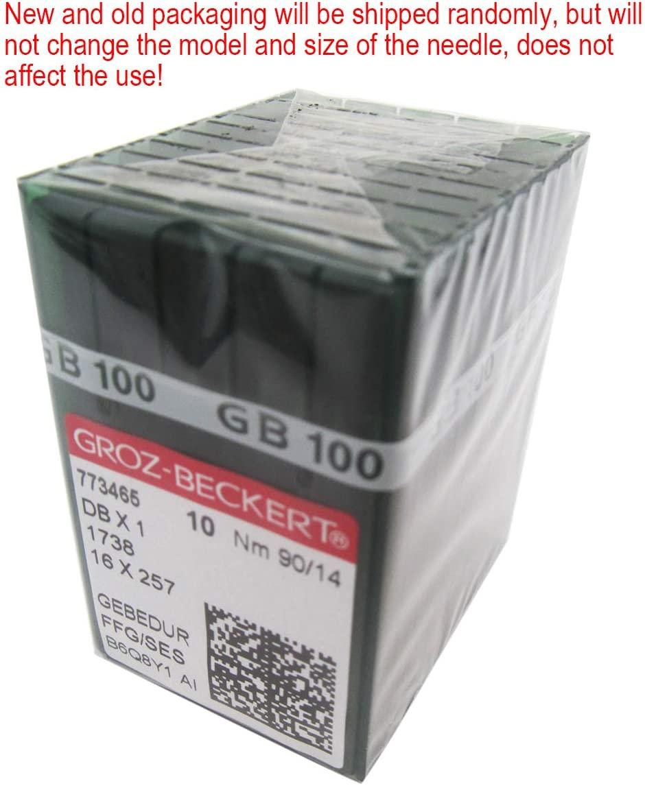 GROZ-BECKERT Needle - 100 GROZ-BECKERT DBX1 16X257 1738 GEBEDUR Titanium Sewing Machine Needles (11/75)