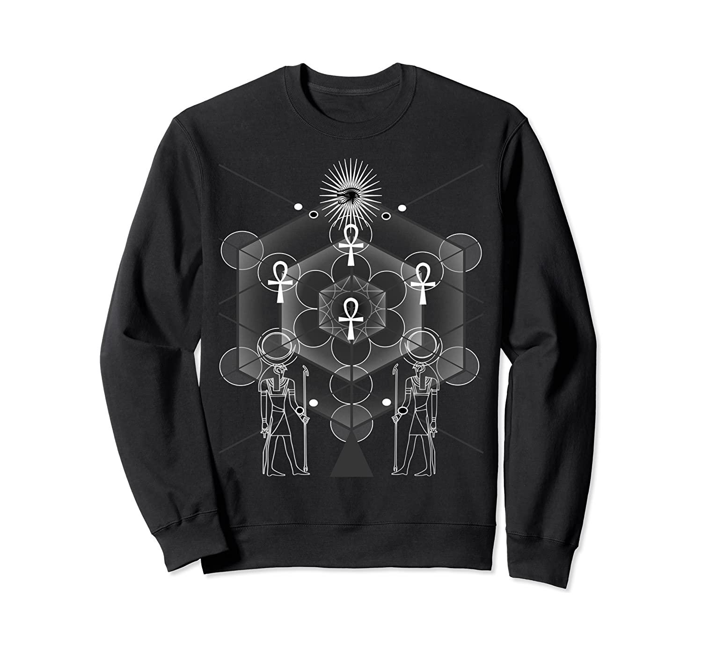 Egyptian Sacred Geometry Sweatshirt