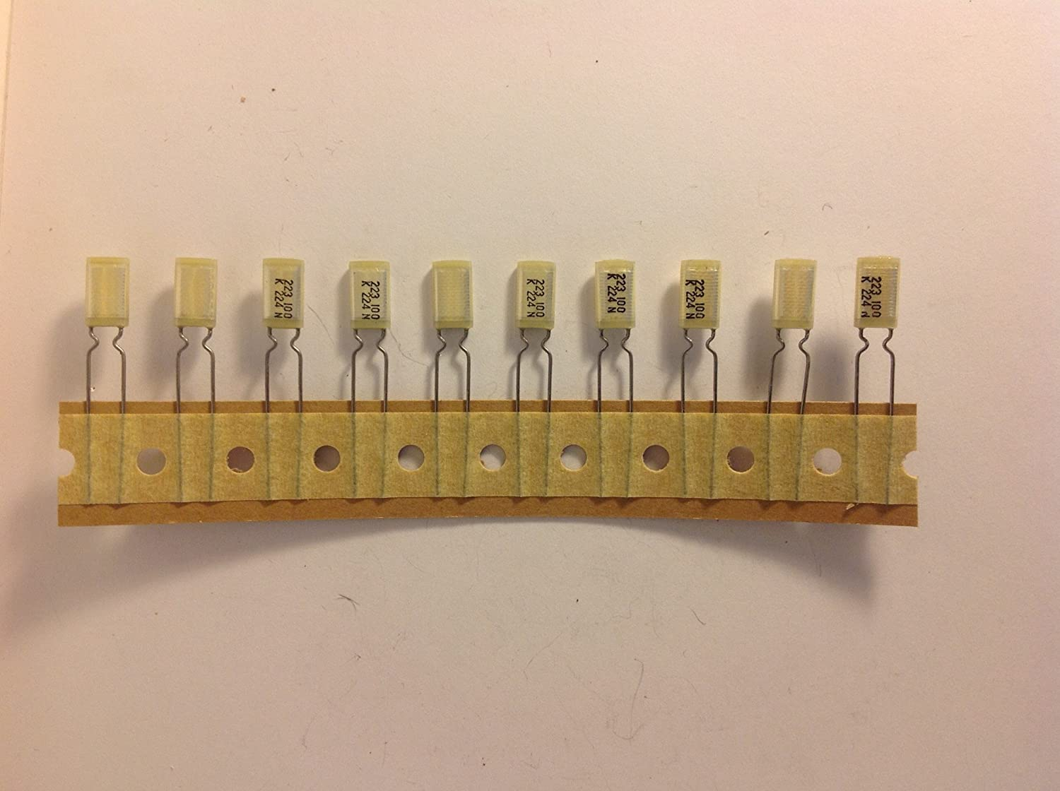 10 pack .022uf Guitar Tone Upgrade Capacitors For JEM or Prestige New Old Stock