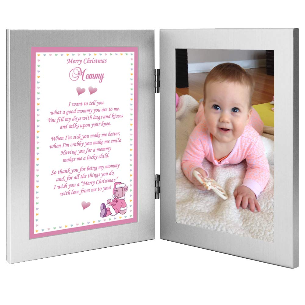 Mommy Gift, Merry Christmas from Baby Girl – Add Photo