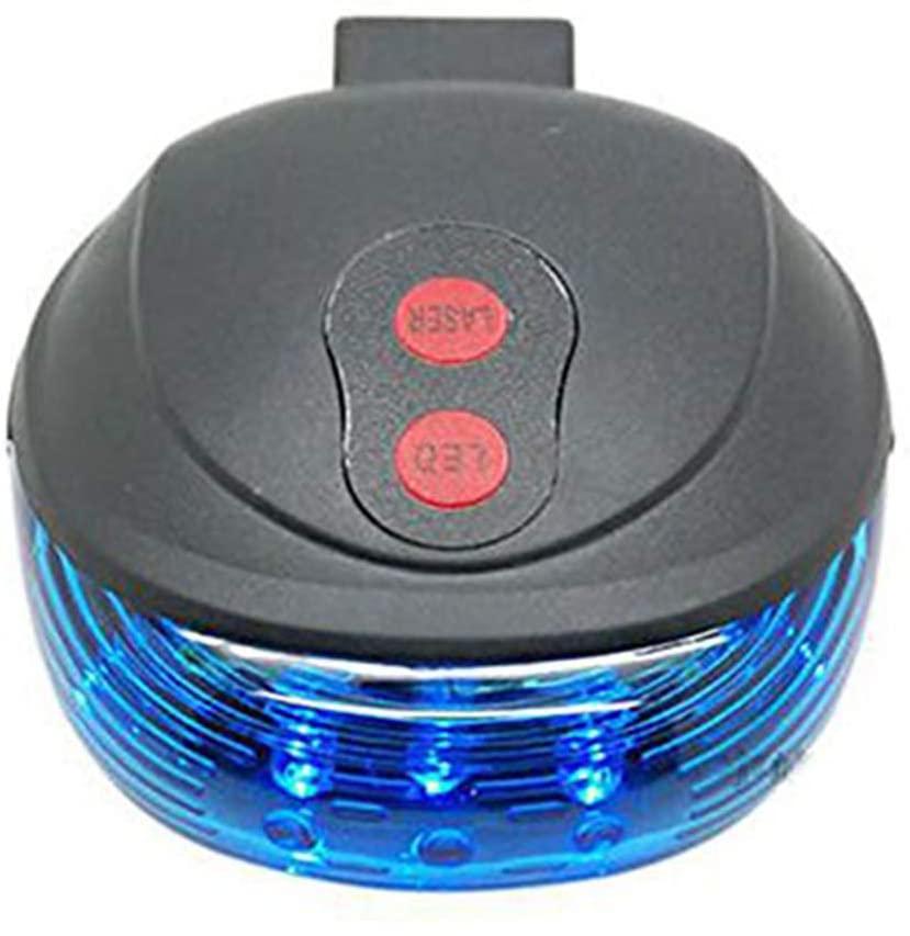 Free walker Bicycle Laser Tail Light 2 Laser Mountain Bike Safety Warning Flashing lamp Alarm Light Back Rear Led