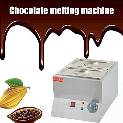 Electric Chocolate Fountain Fondue Hot Chocolate Melt Pot Melter Machine (220V)