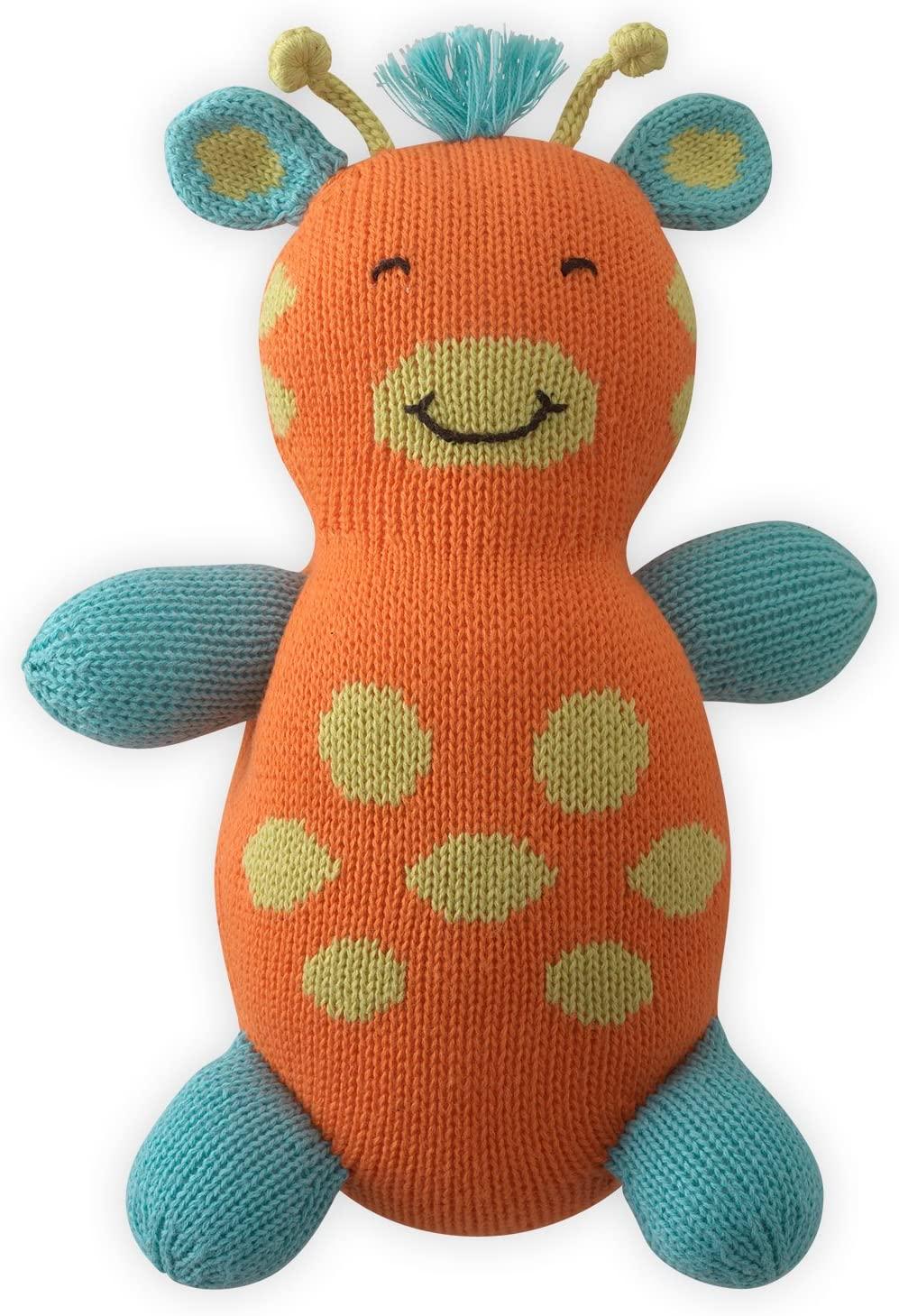 Joobles Fair Trade Organic Stuffed Animal - Jiffy The Giraffe