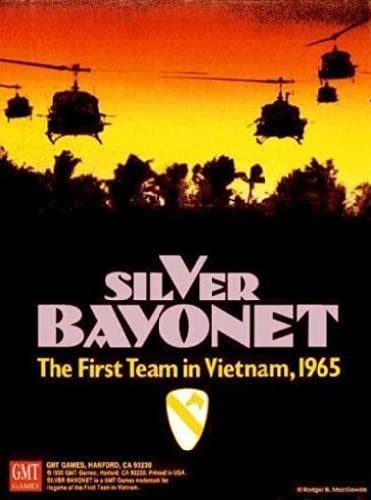 GMT: Silver Bayonet Boardgame, 1st Edition