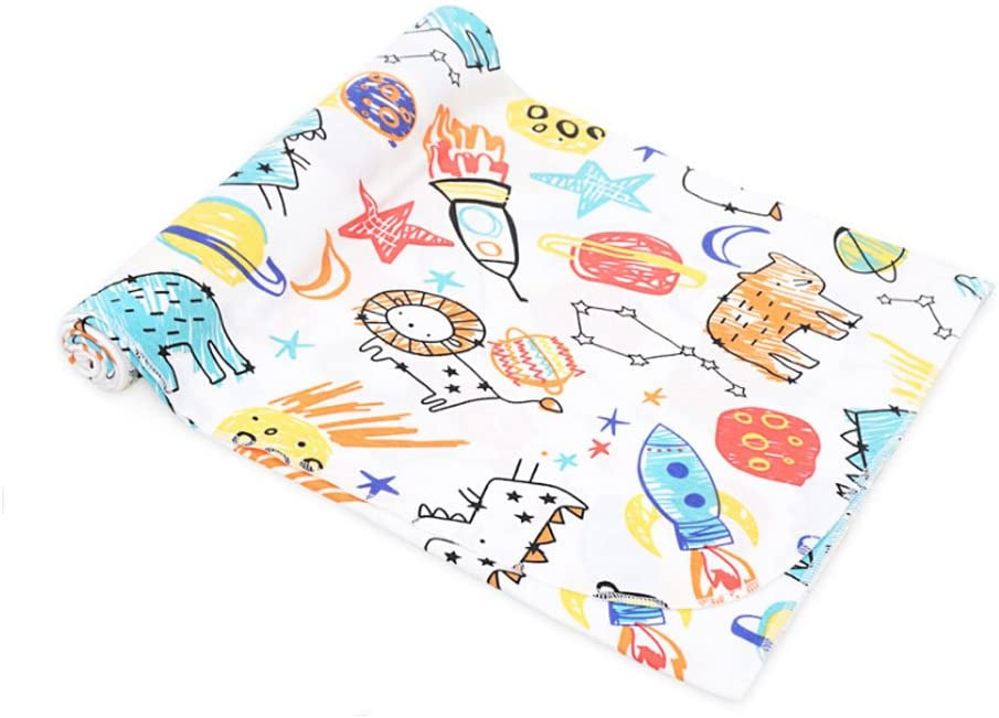 CuteOn Soft Cotton Hospital Receiving Multifunction Blankets for Unisex Baby 84 Paintings