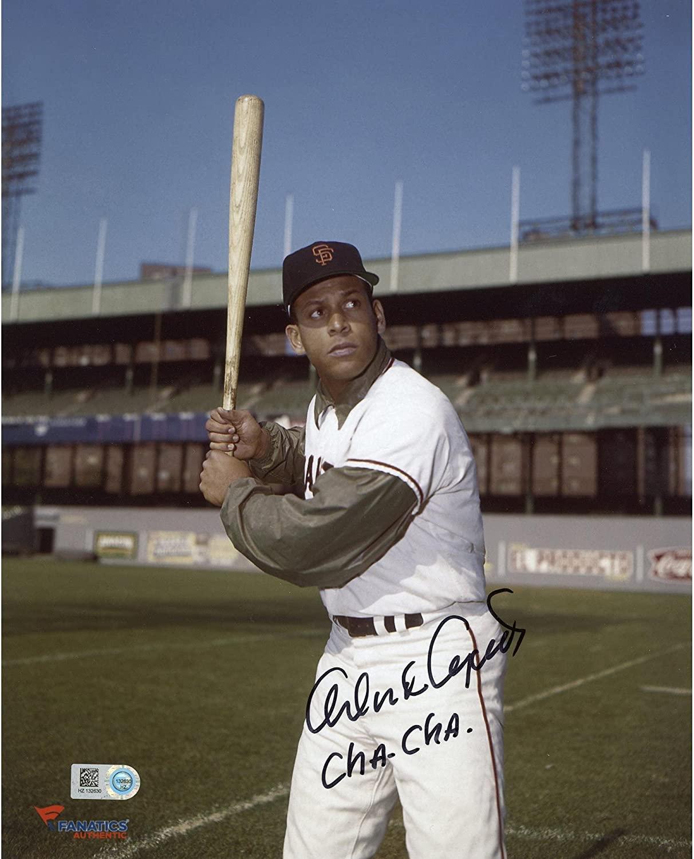 Orlando Cepeda San Francisco Giants Autographed 8