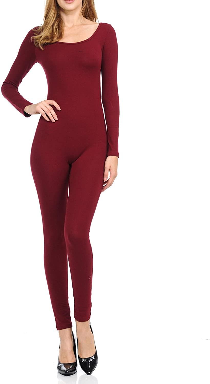 Ladybug Women Catsuit Cotton Lycra Tank Long Sleeve Yoga Bodysuit Jumpsuit/one Piece Footed Jumpsuit