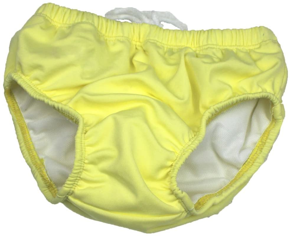 Anbaby Infants and Young Children Swim Diaper Yellow L