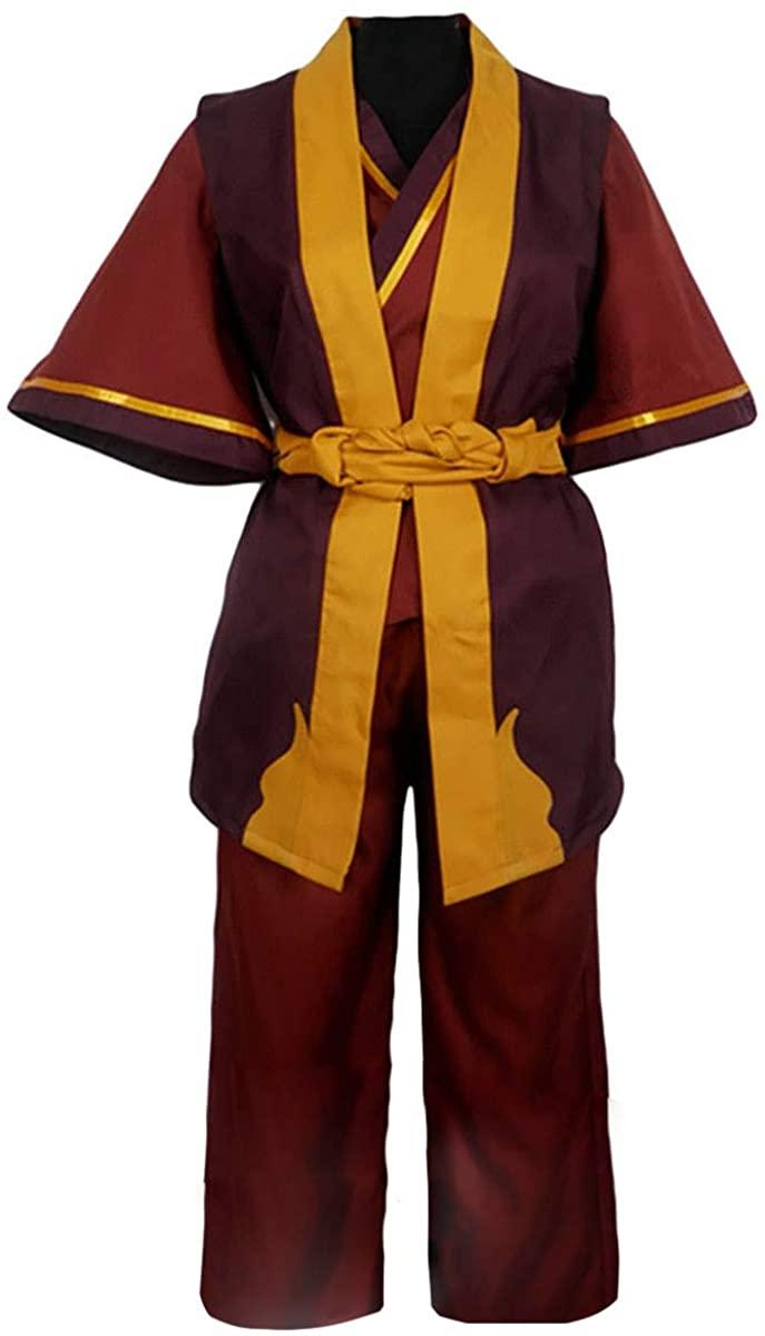 CLLMKL Avatar The Last Airbender Prince Zuko Uniform Cosplay Costume