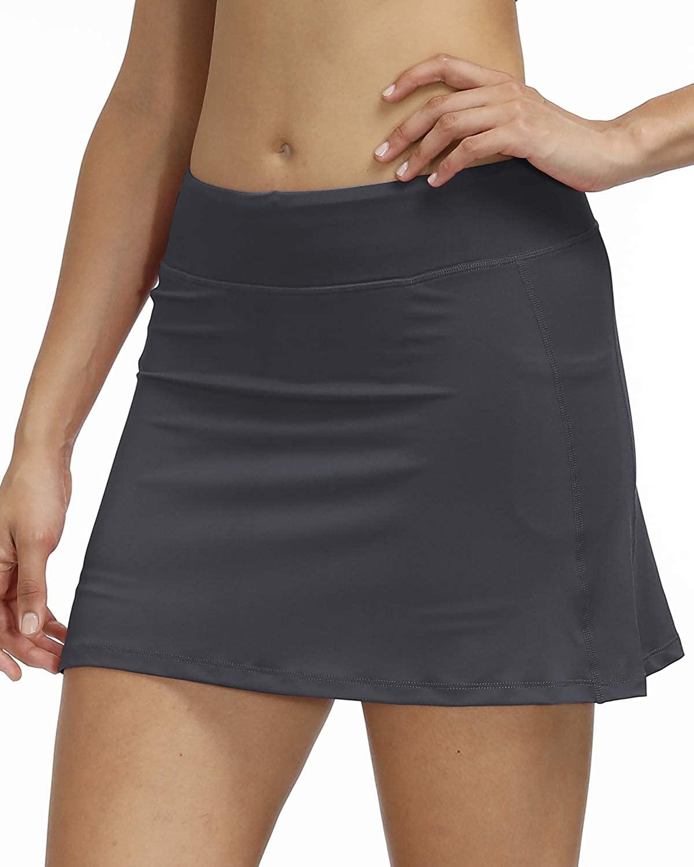 3AXE Women's Tennis Skorts with Inner Shorts Pockets Lightweight Active Skirts for Golf Sports Running Dress