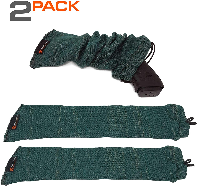 Arcturus Silicone-Treated Handgun Socks - Wide, Flexible Design (3.5