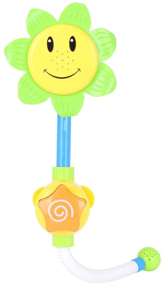 OKBY Baby Bath Toy - Sunflower Faucet Water Shower Toy for Kids Use