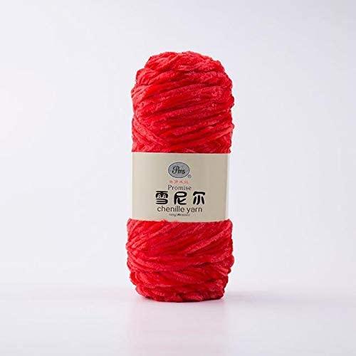 LY 100g/ball DIY Soft Chenille Yarn 100% Polyester Winter Warmth Pleuche Cashmere Yarn Baby Wool Thread Hand Knitting Crochet (3)