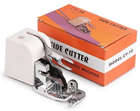 Vvciic Walking Foot Sewing Machine,Sewing Machine Presser Feet, Low Shank Sewing Machine Side Cutter-Sewing Machine Accessory for Singer Janome Brother