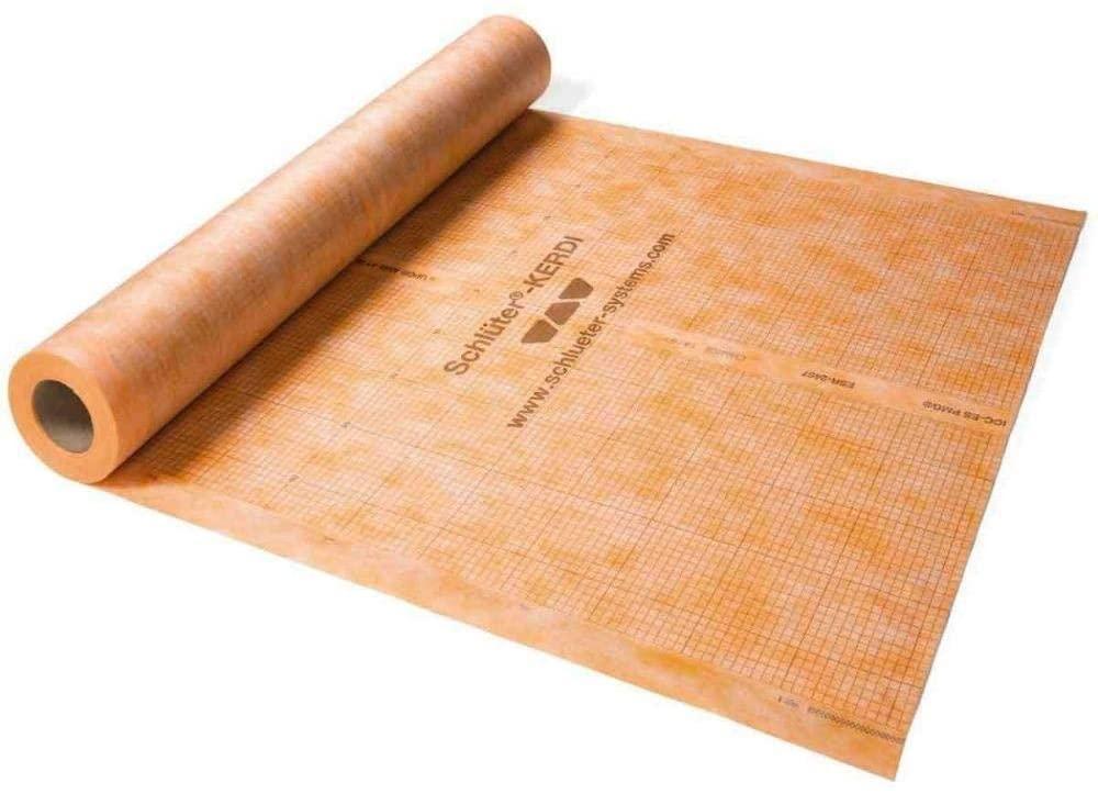 Schluter Kerdi 323 Sq. ft. Roll Waterproofing Membrane