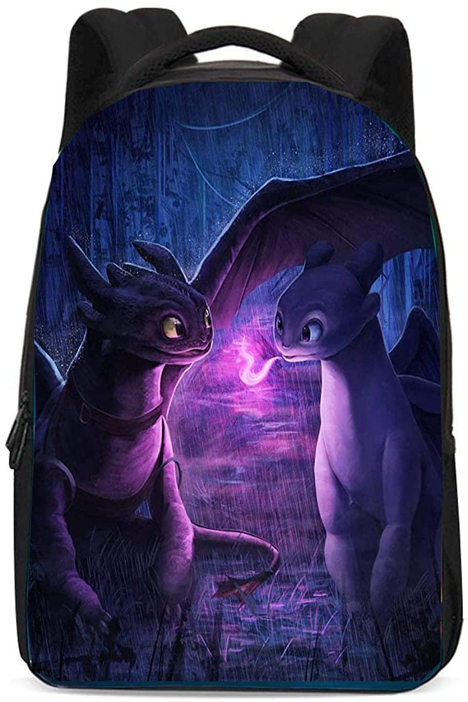 Train Dragon Backpack Your School Bag for Boys Girls