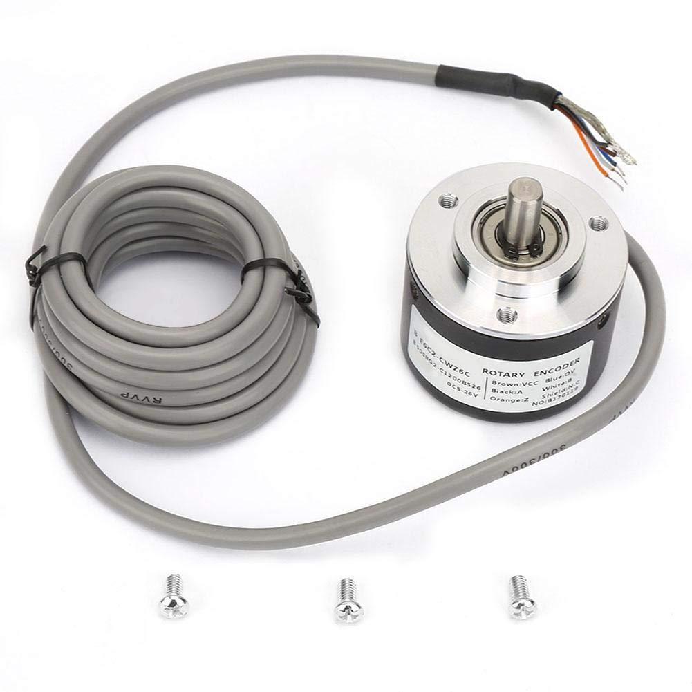 E6C2-CWZ6C,Encoder E6C2-CWZ6C Incremental Rotary Encoder,General-Purpose Encoder 50mm Diameter for Arduino(200P/R)