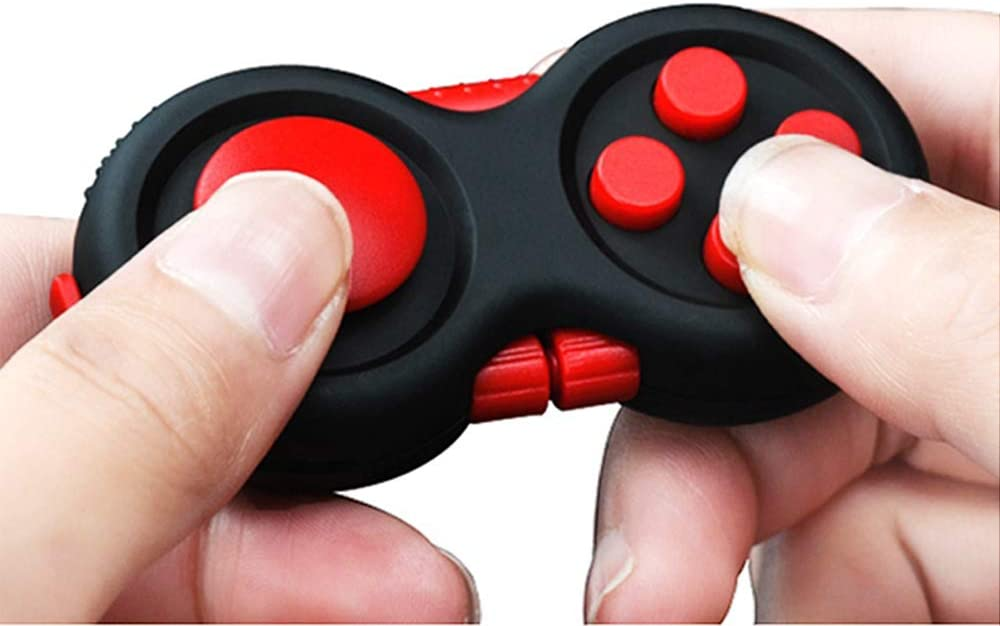 MOSHNOLY Fidget Controller Pad Cube Sensory Silent Puzzle Retro Game Fidget Toys Set Relief Stress and Anxiety Depression for ADHD Autism Adults and Kids