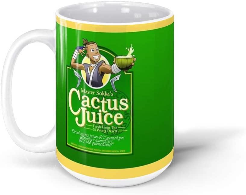 calanaram Master Sokka's Cactus Juice avatar the last airbender all seasons 15Oz Ceramic Coffee Mugs 330891043232