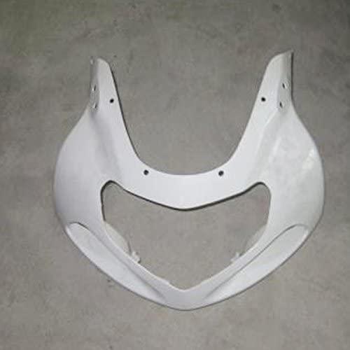 ZXMOTO Motorcycle Front Upper Cowl nose fairing for Suzuki GSXR 1000 2000 2001 2002, Suzuki GSXR 600 GSXR 750 2001 2002 2003(Unpainted, ABS Plastic)