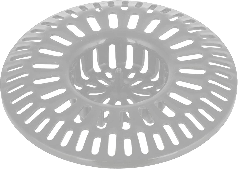 Shower Sink Tub Hair Trap Basket - Bathroom Drain Catcher Bathtub Protector - Bath Drain Strainer Cover