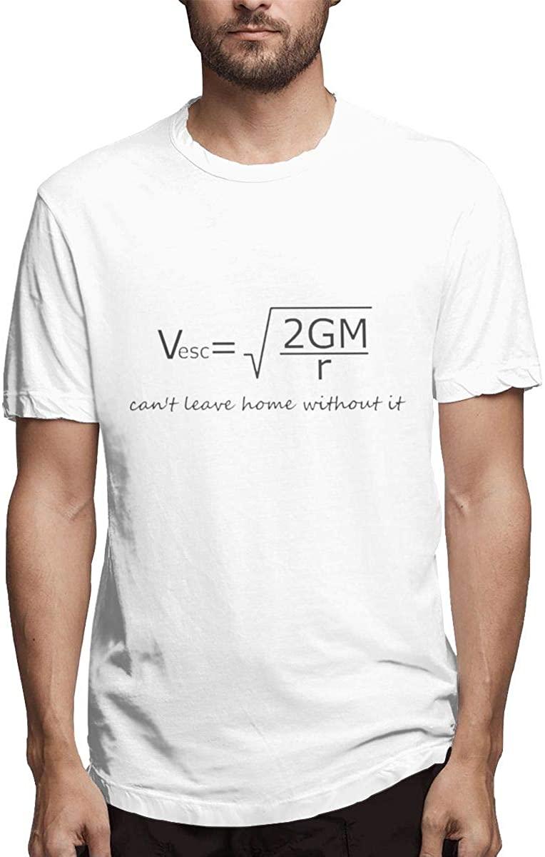 Seuriamin Escape Velocity Men's Funny Outdoor Short Sleeve Shirts