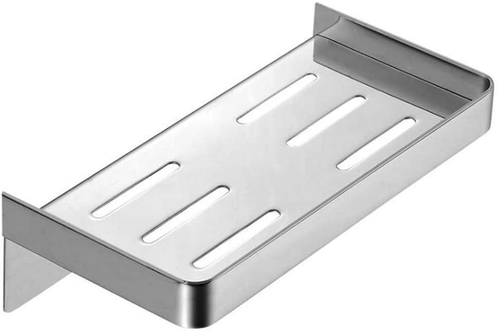 AIYoo Bathroom Shower Caddy Shelf 304 Stainless Steel Bath Shower Shelf Basket Style Wall Mounted Kitchen & Bathroom Shelves Organizer for for Shampoo Conditioner