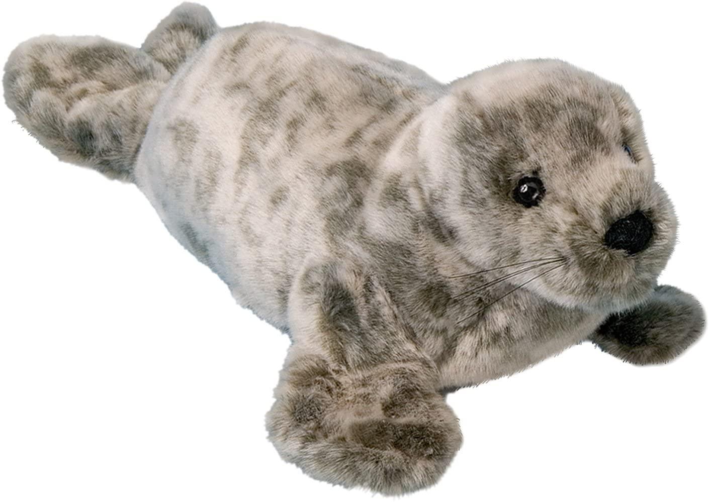 Douglas Speckles Monk Seal Plush Stuffed Animal