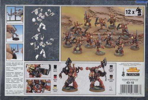 Games Workshop Chaos Space Marine Berzerkers Warhammer 40k