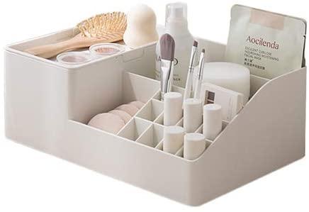 Lunmore Cosmetic Storage Box Makeup Organizer Cabinet and Vanity Organizer