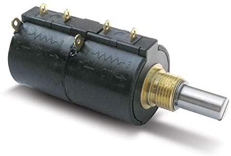 Precision Potentiometers Precision Pot 1K/1K 7/8' 22MM Dia 10T (3549H-2AC-102/102B)
