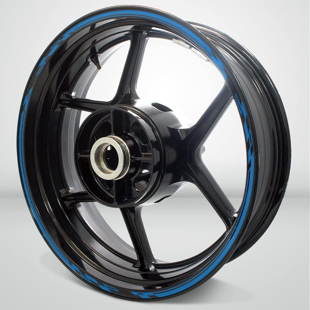 Matte Blue Race Outer Rim Liner Stripe for Suzuki GSXR 1000