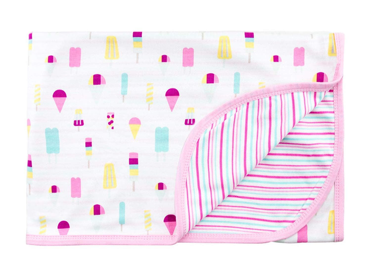 CuteOn Baby/Toddler Girls/Boys Blanket - Assorted Color (36 Ice Cream)