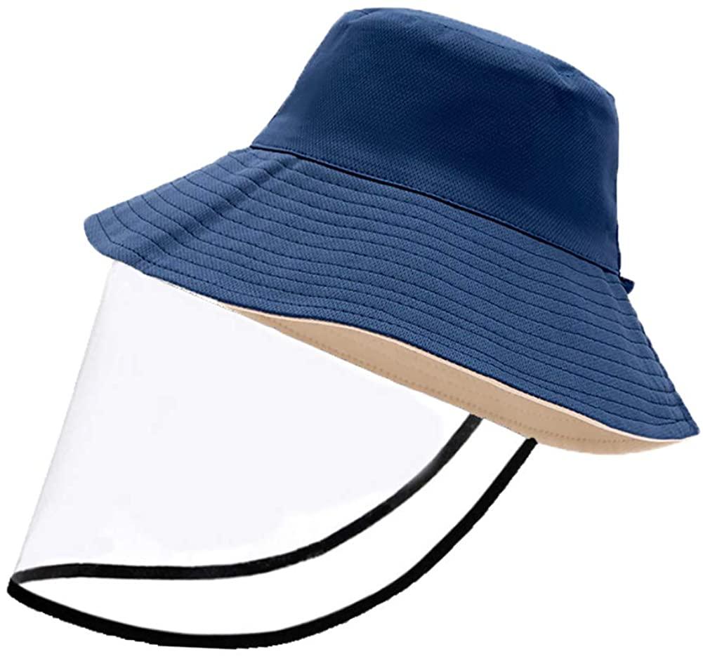 jinlvqi Womens Fisherman's Hat Multifunction Adjustable Solid Colo Fishing Fisherman Bucket hat