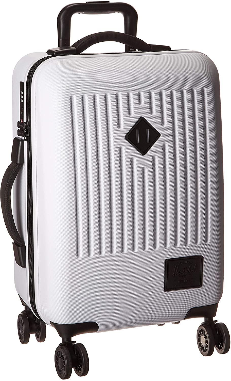 Herschel Trade ABS Dual Spinner, White, 40.0L/23-Inch