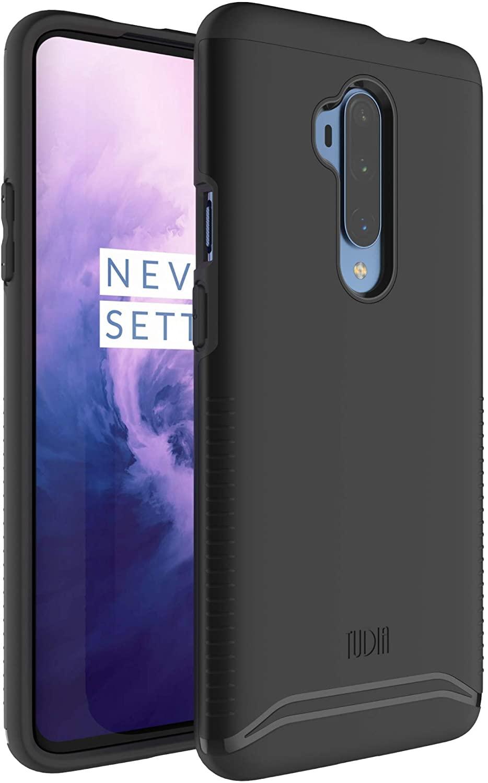 TUDIA Merge Designed for OnePlus 7T Pro Case, Dual Layer Phone Case for OnePlus 7T Pro, OnePlus 7T Pro McLaren Case (Matte Black)