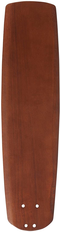 Emerson Ceiling Fans B78WA 25-Inch Solid Wood Indoor-Outdoor Ceiling Fan Blades, Walnut, Damp Location, Set of 5 Blades