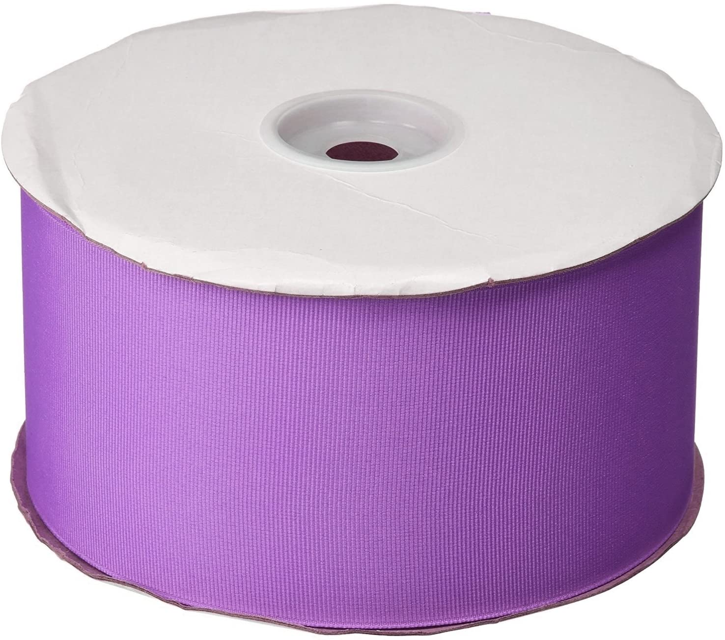 Ben Collection 4 Inch X 25 Yard Grosgrain Plain Ribbon Party, Wedding Favor Crafting Ribbon (Lavender)