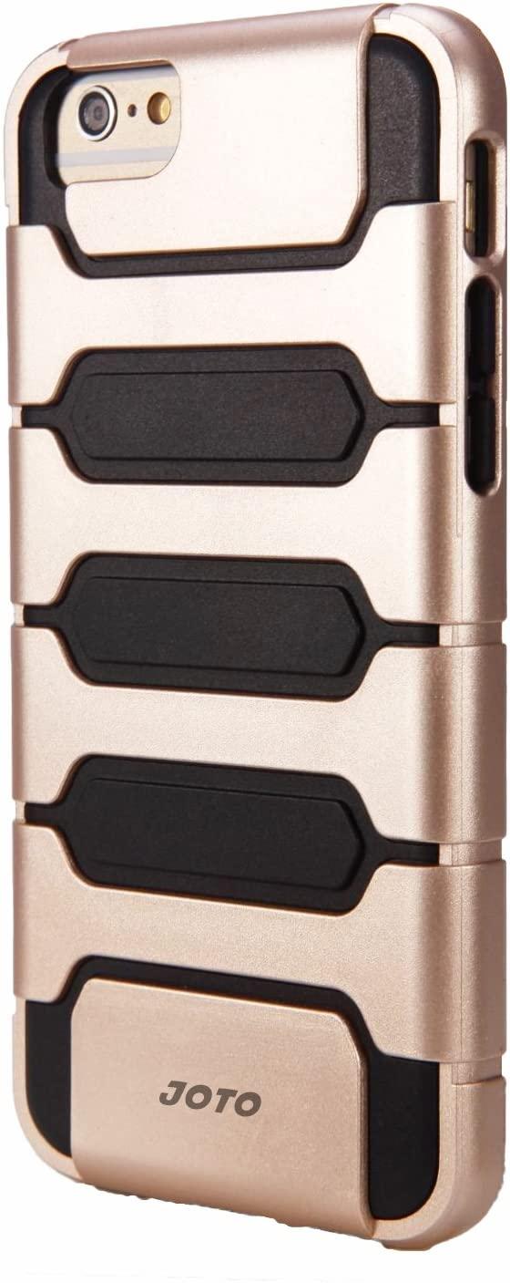JOTO iPhone 6S Plus/iPhone 6 Plus 5.5 Case - Hybrid Armor Bumper Cover Case (Dual Layer: Flexible TPU + Hard PC) for Apple iPhone 6S Plus 5.5