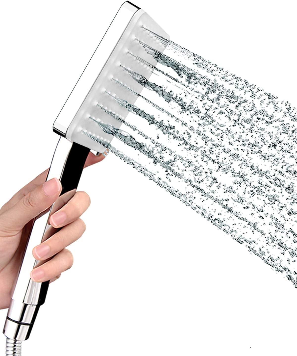 Newentor Shower Head Hand-held, High Pressure Shower Head with 59