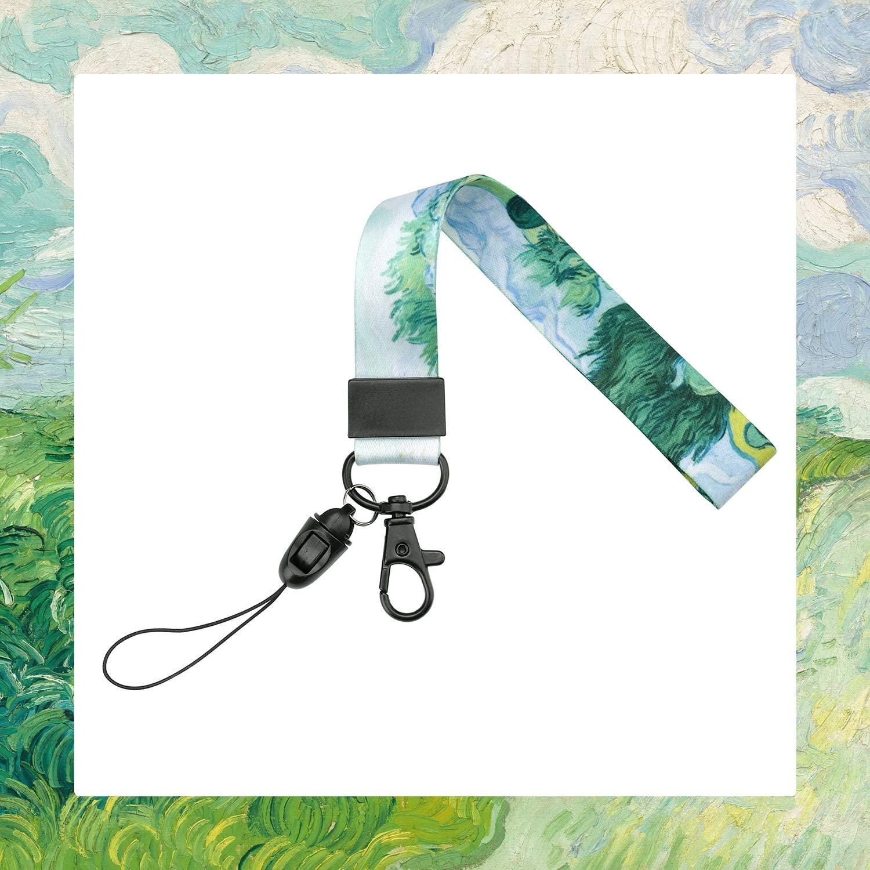 Wristlet Strap for Key, Hand Wrist Lanyard Key Chain Holder (2)