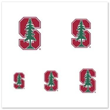 NCAA Stanford University Cardinal 4-Pack Temporary Fingernail Tattoos