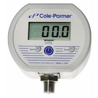 Cole-Parmer AO-68935-64 Digital NEMA Gauge, 0 to 3000 PSI; 1/4