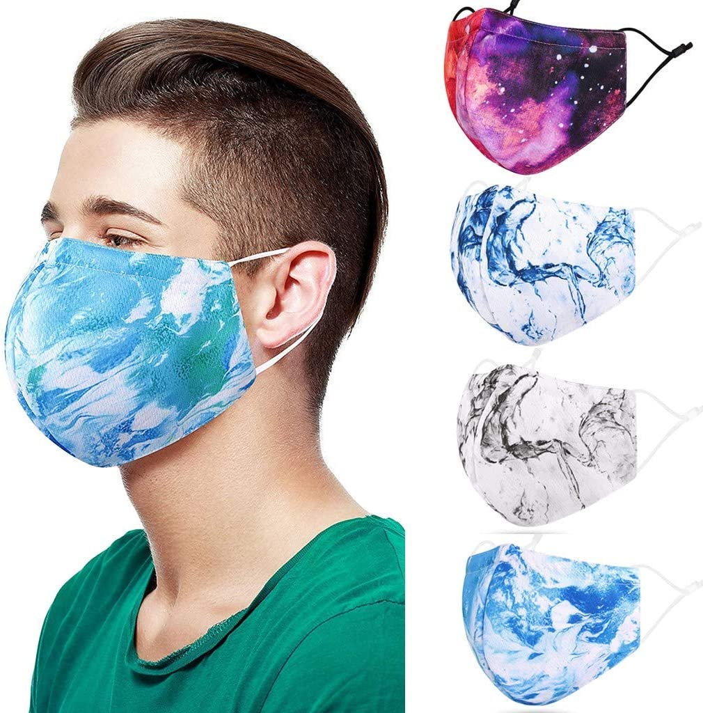 Pacoco Unisex Washable and Reusable Mouth Face Warm Windproof Face Product Cycling Washable Proof Face (C)